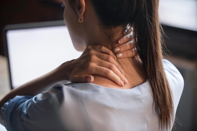 Schulter Nacken Massage Leipzig