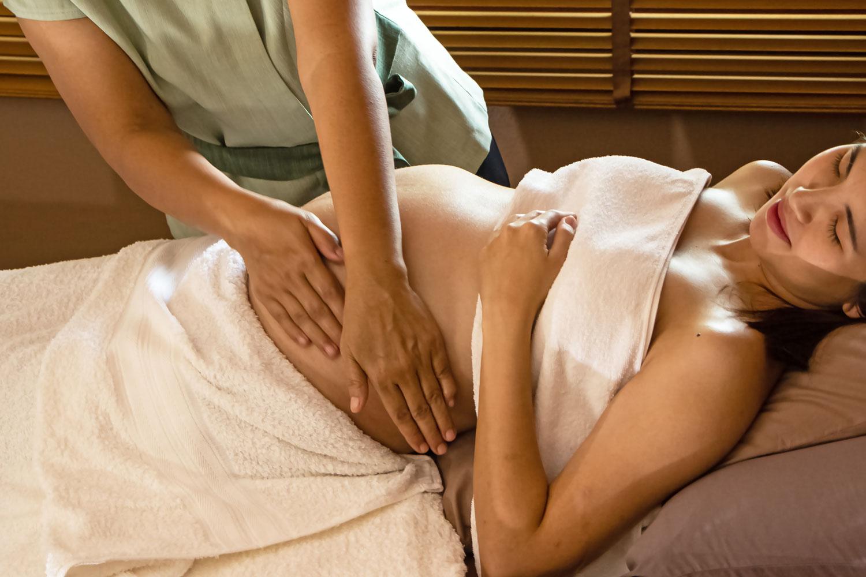 Schwangerschaftmassage